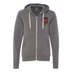 Bella+Canvas Unisex Triblend Sponge Fleece Full-Zip Hoodie