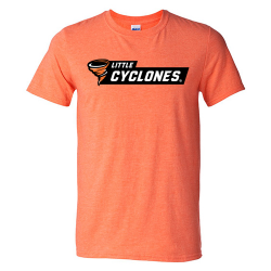 Gildan Unisex SoftStyle T-shirt (Adult) - Little Cyclones Black Bar