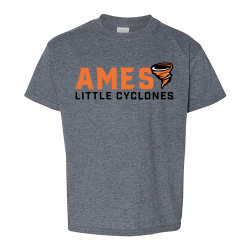 Gildan Unisex SoftStyle T-shirt (Youth) - Ames Little Cyclones