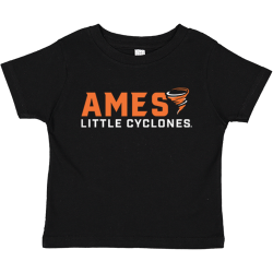 Rabbit Skins Toddler Fine Jersey Tee - Ames Little Cyclones