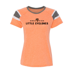 Augusta Sportswear Women's Fanatic Tee - Ames High Little Cyclones