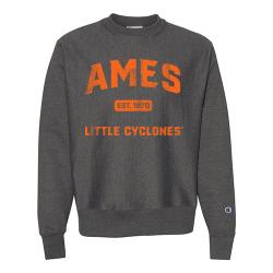Champion Reverse Weave Crewneck Sweatshirt (Adult) - Ames Est 1870