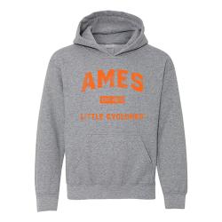 Gildan HeavyBlend Hooded Sweatshirt (Youth) - Ames Est 1870
