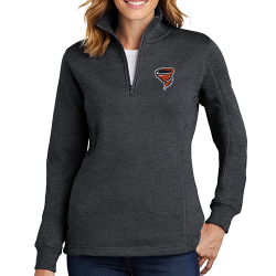 Sport-Tek Women's 1/4-Zip Sweatshirt